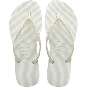 havaianas Slim - Sandales Femme - blanc